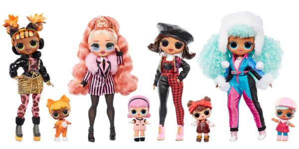 Todos los modelos LOL WINTER CHILL FASHION DOLLS